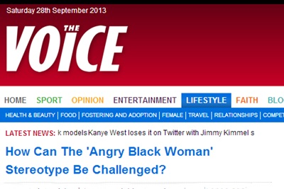 How can the 'angry black woman' stereotype be challenged- - The Voice Online