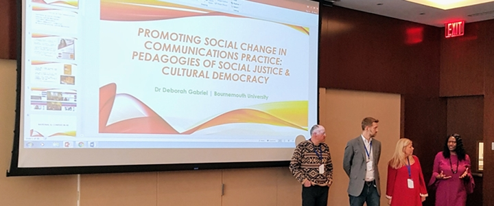 Talking social justice pedagogy and critical media in New York