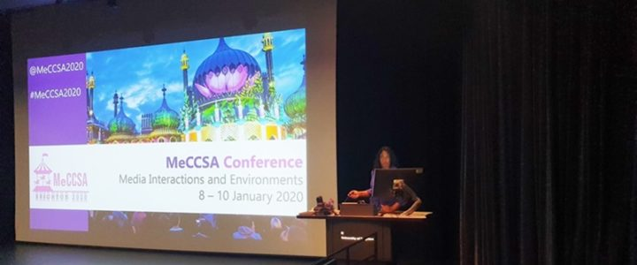 My keynote at MeCCSA 2020